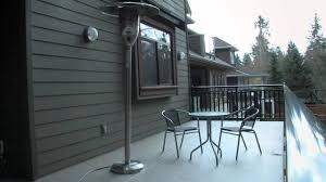 Mainstays Patio Heater Instructions by Natural Gas Patio Heater Youtube