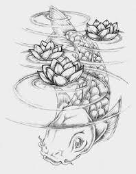 Majesty Tattoo Bali Koi Under Water
