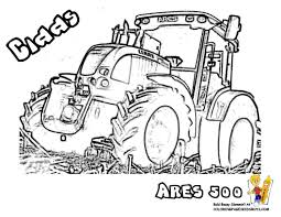 Coloriage Tracteur Ford 3600 1187 Tracteur Agricole Ferme Coloriage
