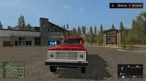 1972 Ford F600 Fire Truck V1.0 - Modhub.us