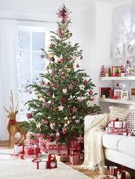 Prelit Christmas Tree That Lifts Itself by Red And White Scandinavian Christmas Scandi Style Scandinavian