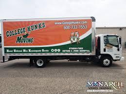 100 Truck Designs College Hunks Box Wrap Monarch Media Madison WI
