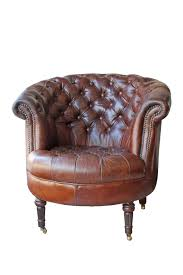 Leather Barrel Tufted Chesterield Brown Leather Chair On Caster ... 30 Ideas Of Vintage Leather Armchairs B French Wingback Club Chair C Surripuinet Chairs Armchair Cuoio Deco Art Noir Fniture Club Chair Vintage Cigar Leather 3d Model Max Obj Sofa Attractive Distressed 289 Pjpg Cambridge Aged Xrmbinfo Page 41 Sofas Belmont W Ottoman Hand Finished Lovely Antique 2152 2jpg Noir Cigar Fniture Dazzling Button Back