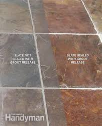 Can You Steam Clean Unsealed Hardwood Floors by How To Remove Grout Haze From Stone Tile Family Handyman
