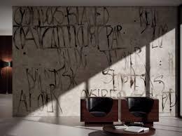 tapete mit worten für wände wand zimmer innenarchitektur