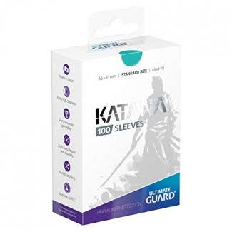 Ultimate Guard Katana Card Sleeves - Turquoise, x100