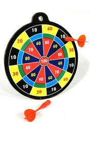 Sale Dart Board Game Mini Magnetic Target