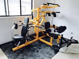 Home gym powertec power rack dumbells cage paypal free weights