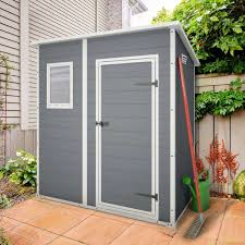 6x8 Plastic Storage Shed by Keter Pent 6x4 Plastic Garden Shed Storage Pinterest Outdoor