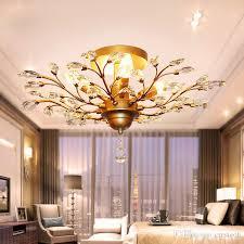 Tree Branch Pendant Lamps K9 Crystal Chandeliers Pendant Lighting