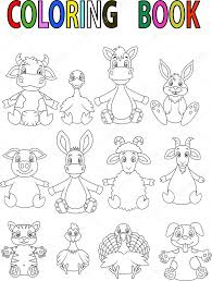 Adult Printable Farm Animal Coloring Pages For Kids Animals