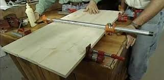 Using Pipe Clamps To Glue Boards Together