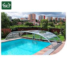 2018 Hot Sale Telescopic DIY Easy Installing Swimming Pool Cover