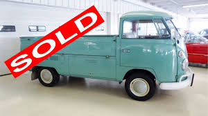 100 1960s Trucks For Sale 1966 VW Volkswagen Pickup Truck Stock 084036 For Sale Near