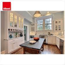 land stil holz top l form küche schränke mit wein rack buy landhausstil küchenfront holz top küchenfront l form küchenfront product on alibaba