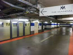 The Mandala Hotel Underground Parking Has An Entrance To