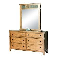 6 Drawer Dresser With Mirror by Dressers