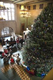 The Purdue Memorial Union Will Send Holiday Season Into High Gear On Monday Dec 4 As 30 Foot Tall Christmas Tree Arrives In Great Hall Around