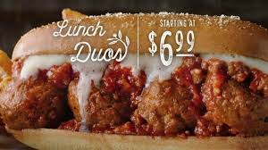 Olive Garden Lunch Duos TV mercial Never Ending Value for