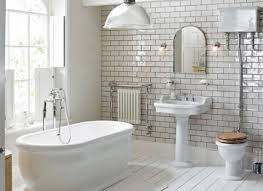 fantastic guest bathroom with with 3x6 daltile desert gray subway