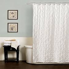 Curved Curtain Rod Kohls by Romance White Or Ivory Lace Shower Curtain Altmeyers Bedbathhome