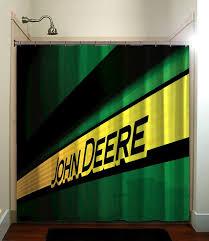 tractor john deere shower curtain bathroom home decor fatboy studio