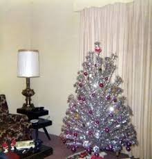I Have This Vintage Aluminum Christmas Tree Purchased At A Garage Sale Complete With Color Wheel And Stand From