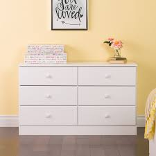 South Shore Step One Dresser White by South Shore Valentina 6 Drawer Dresser Hayneedle