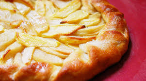 Rustic Rosemary Apple Tart