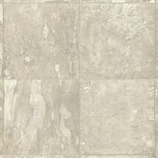 Armstrong Groutable Vinyl Tile by Shop Armstrong 12 Ft W Ivory Stone Low Gloss Finish Sheet Vinyl At