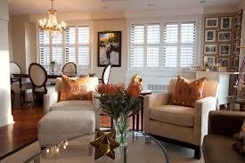 modern decoration transitional living room furniture chic design