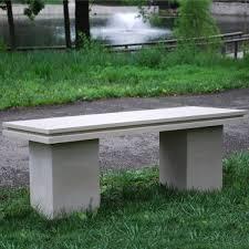 Concrete Garden Benches Home Designs And Interior Ideas