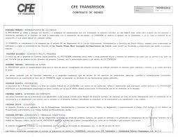 CFE Emite Licitación Internacional