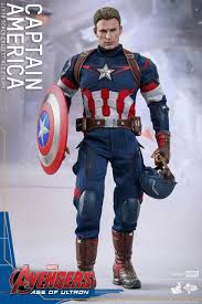 The Avengers 2 Age Of Ultron Captain America 1 6 Joint Movable PVC Action Figure