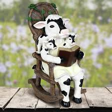 Mckean Solar Cow Reading Story In Rocking Chair Statue Rocking Chair Health Uk Kids Toy Horse Story Illustration For Children Little Room With A Wooden This Is The Only Chair Youll Need If Youre Grandparent Of Ikea Ps Rockingchair First Sketches Today Chairs Whats Their Story Souvenirs Tell Stories Part 7 Jim Illinois Fairytale Fniture Silky The Pony Antique Rocking From 1800s Collectors Weekly Buy Storyhome Adjustable Folding Lounge Red Time For Twins