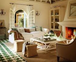 Country Style Living Room Pictures by Country Style Room With Stone Walls And Wooden Floors A House