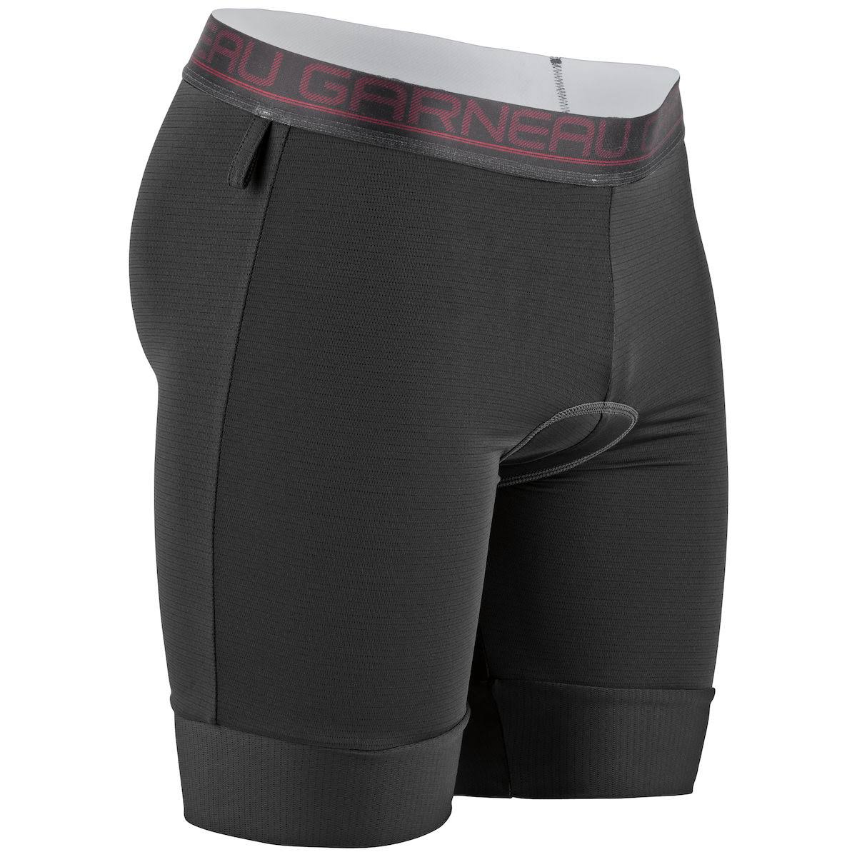 Louis Garneau Men's Sport Inner Cycling Liner - Black and Red, X-Large