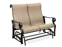 Patio Furniture Loveseat Glider by Gliders Chair King