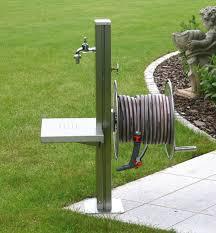 Decorative Brass Hose Bibs by Garden Tap Free Standing Stainless Steel Outdoor Tap Platform