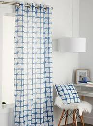 Sheer Cotton Voile Curtains by Shibori Curtains Pair Of Sheer Cotton Voile Curtain Panels