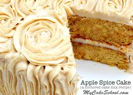 Apple Spice Cake A Doctored Cake Mix Recipe