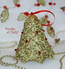 Folded Fabric Christmas Tree A Tutorial September 17 Best Images About Crafts Starquilted