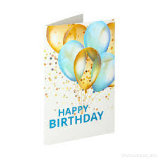 3D Greeting Card Happy Birthday 10 9561284023655