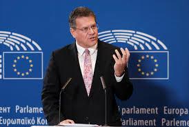 100 Sefcovic Announces Bid For EUs Top Job As SocialDemocrat