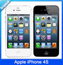 Original Apple iPhone 4S Unlocked Mobile Phone IOS 8 512MB RAM 8GB