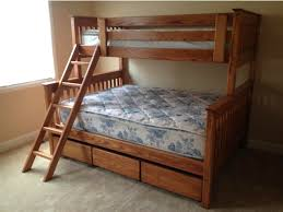 bunk beds twin over queen bed plans full with birdcages