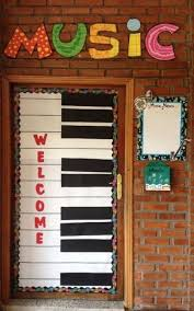 What A Cool Idea For Door To Your Music Classroom