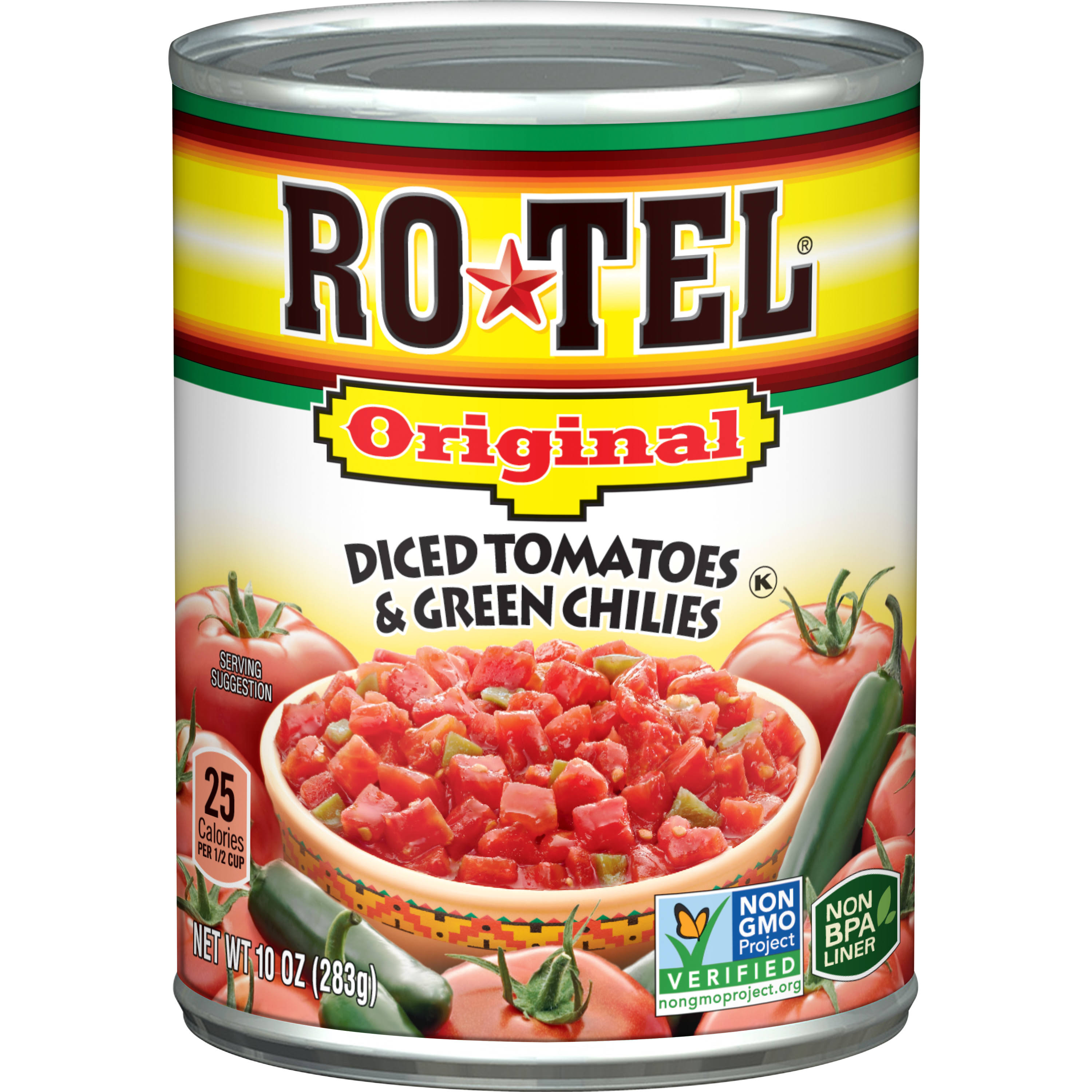 Rotel Original Diced Tomatoes and Green Chilies - 10oz