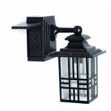 hton bay hton bay mission style exterior wall lantern with