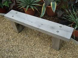 guide backless simple wood bench plans wood design and project